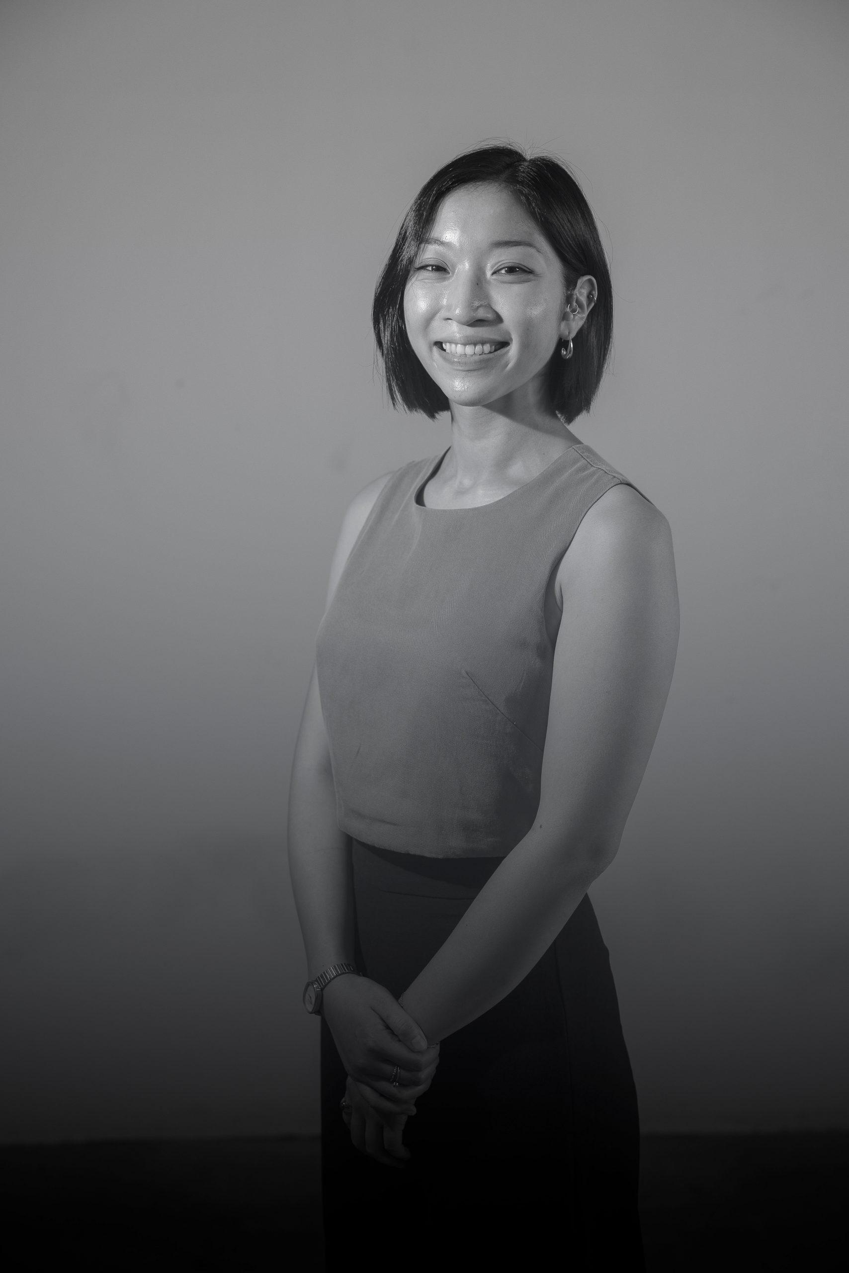 Ann Maria Lee smiling
