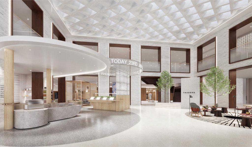 The Exchange lobby