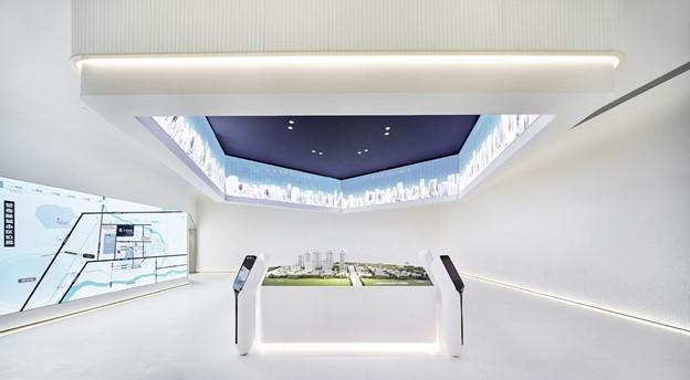 Sales gallery in Changshou, Chongqing